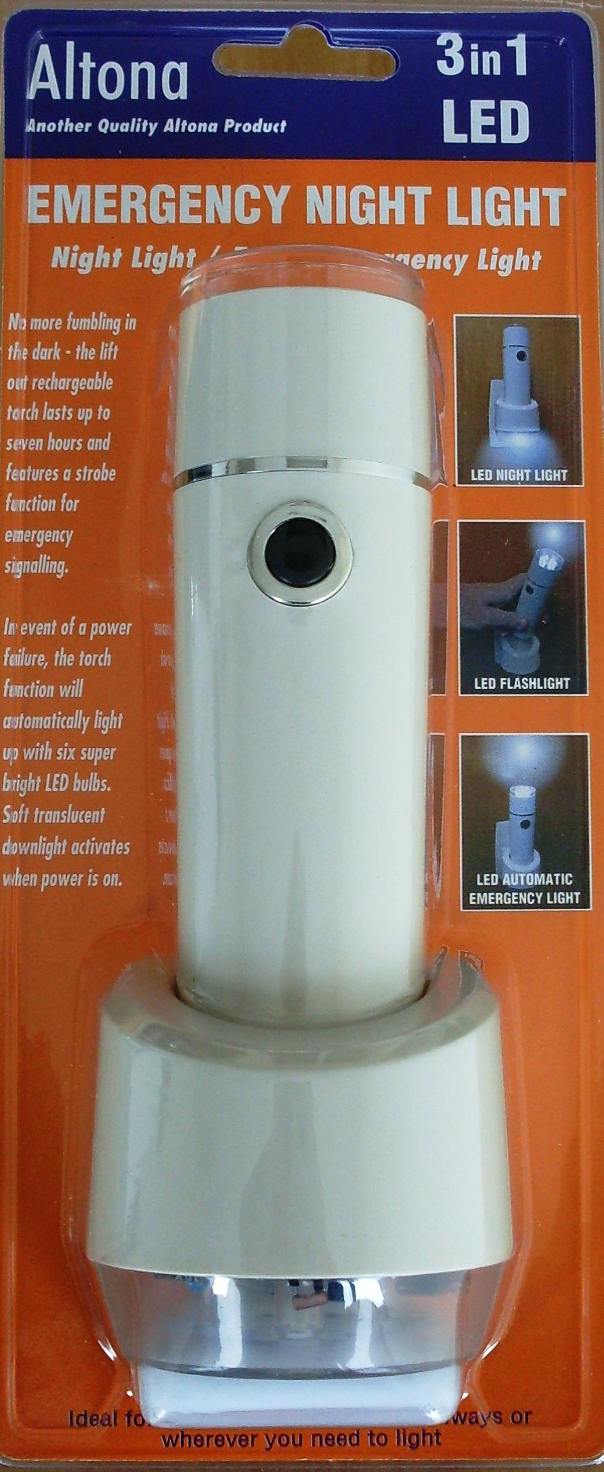 Altona 6 Led 3 In 1 Emergency Light Globelink Automatic