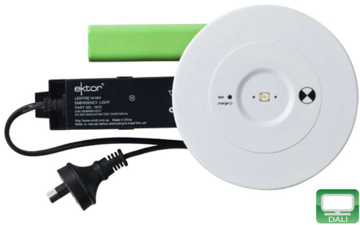 Ektor recessed led emergency luminaire d40 dali globelink ektor recessed led emergency mozeypictures Image collections