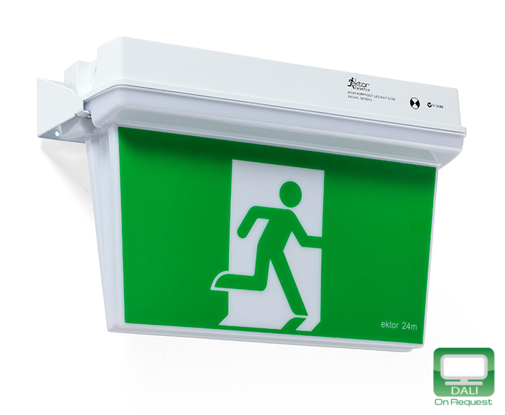EV3724 Weatherproof Emergency EXIT Sign