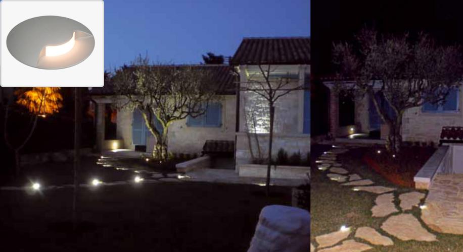 LED Outdoor Path Light Single Side 3W3K 350mA IP67
